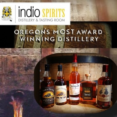 Indio Spirits Distillery - Private Tour & Tasting for 15 people